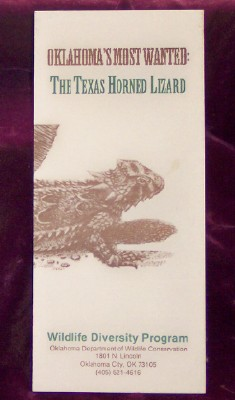 Image for Oklahoma's Most Wanted: The Texas Horned Lizard