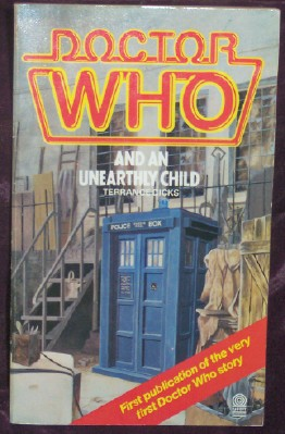 Image for Doctor Who and an Unearthly Child