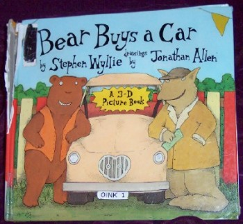 Bear Buys a Car: A 3-D Picture Book