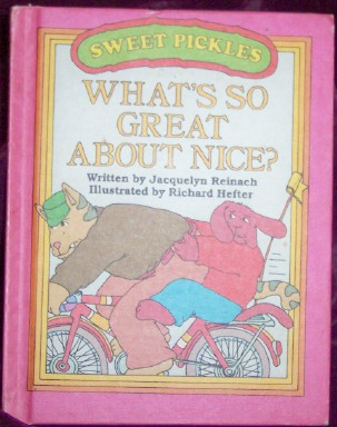 Image for Weekly Reader Books Presents What's So Great about Nice