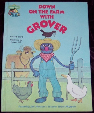 Image for Down on the Farm with Grover, Featuring Jim Henson's Sesame Street Muppets