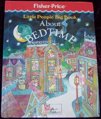 Image for Little People Big Book About Bedtime
