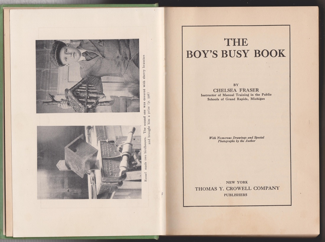 Image for The Boy's Busy Book