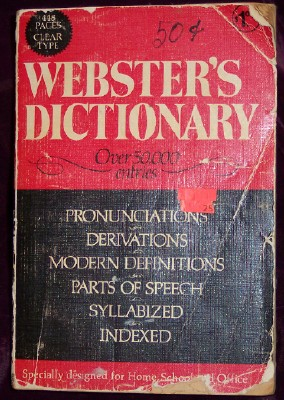 Image for WEBSTER'S DICTIONARY