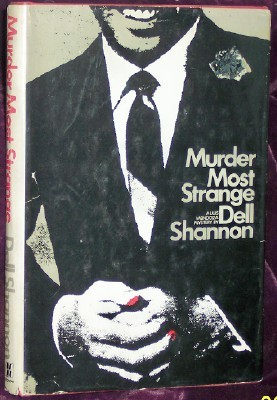 Image for Murder Most Strange: A Louis Mendoza Mystery