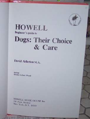 Image for Howell Beginner's Guide to Dogs: Their Choice and Care