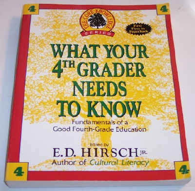 Image for What Your 4th Grader Needs To Know