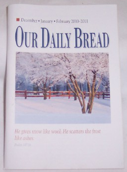 Image for Our Daily Bread, December-January-February 2010-2011