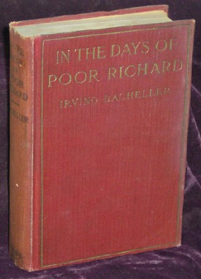 Image for In The Days Of Poor Richard